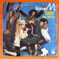Discos de vinilo: SINGLE VINILO BONEY M SUNNY. Lote 47995417