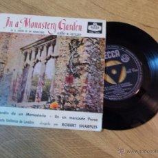 Discos de vinilo: NUEVA ORQUESTA SINFONICA DE LONDRES. EN EL JARDIN DE UN MONASTERIO. EN UN MERCADO PERSA.. Lote 47998116