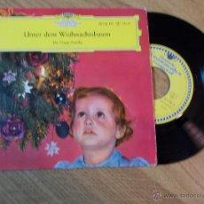 Discos de vinilo: DIE TRAPP-FAMILIE. UNTER DEM WEIHNACHTSBAUM.. Lote 47998156
