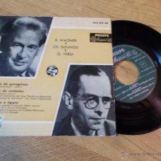 Discos de vinilo: R.WAGNER.CH.GOUNOD.G.VERDI.CORO DE PEREGRINOS.CORO DE SOLDADOS. GLORIA A EGIPTO. Lote 47998238