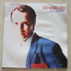 Discos de vinilo: JOSE MANUEL SOTO - COMO UNA LUZ - LP 1989 - HOJA CON LAS LETRAS. Lote 47999561