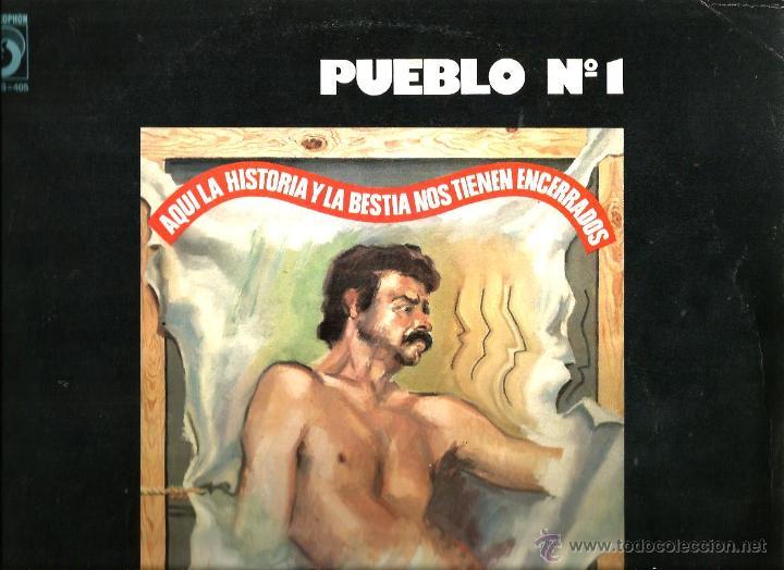 LP PUEBLO Nº 1 ( JUAN D´ARC ) ( MARC GRAU, LA BANDA TRAPERA DEL RIO ) (Música - Discos de Vinilo - EPs - Grupos Españoles de los 70 y 80)