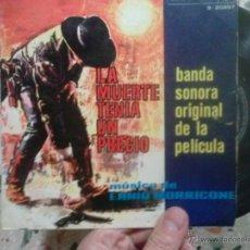 Discos de vinilo: LA MUERTE TENIA UN PRECIO BSO MAXI LP . Lote 48002076