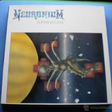 Discos de vinilo: NEURONIUM SUPRANATURAL LP 1987 .DRO.DIRECT METAL MASTERING(DMM). PDELUXE. Lote 48006107