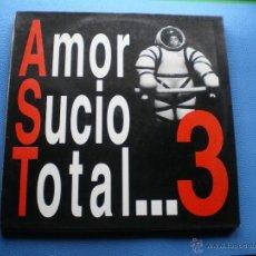 Discos de vinilo: AMOR SUCIO TOTAL AMOR SUCIO TOTAL 3 LP 1992 ENCARTE CRTOS.VERS.ZAPPA,CHIC,ALICE COOPER PDELUXE. Lote 48006266