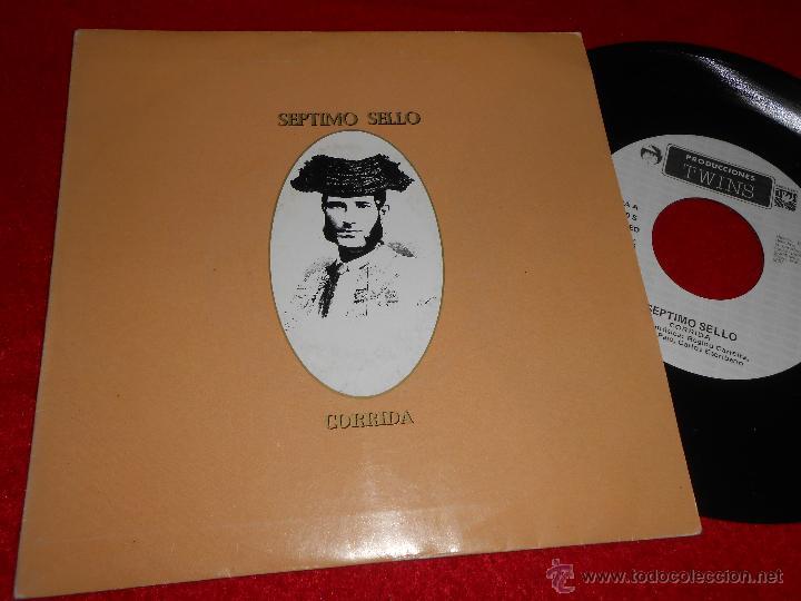 SEPTIMO SELLO CORRIDO/EL LIBRO DE DZYAN 7 SINGLE 1986 TWINS MOVIDA POP (Música - Discos - Singles Vinilo - Grupos Españoles de los 70 y 80)
