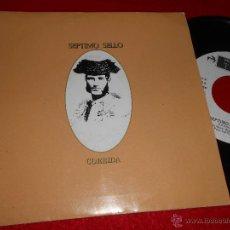 Discos de vinilo: SEPTIMO SELLO CORRIDO/EL LIBRO DE DZYAN 7 SINGLE 1986 TWINS MOVIDA POP. Lote 48008402