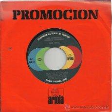 Discos de vinilo: ROCIO DURCAL SG ARIOLA 1978 PROMO ESPECIAL SINFONOLAS NO LASTIMES MAS JUAN GABRIEL . Lote 48010405