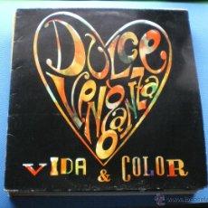 Discos de vinilo: DULCE VENGANZA VIDA&COLOR LP 1991 PDELUXE. Lote 48022202