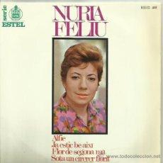 Discos de vinilo: NURIA FELIU EP SELLO HISPA VOX . Lote 48029582