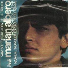 Discos de vinilo: MARIAM ALBERO EP SELLO EDIGSA EN CATALAN. Lote 48029930
