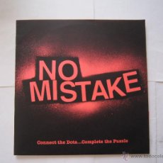 Discos de vinilo: EP - NO MISTAKE - CONNECT THE DOTS COMPLETE THE PUZZLE - 2013 - IMPORTACIÓN U.S.A.. Lote 48030501