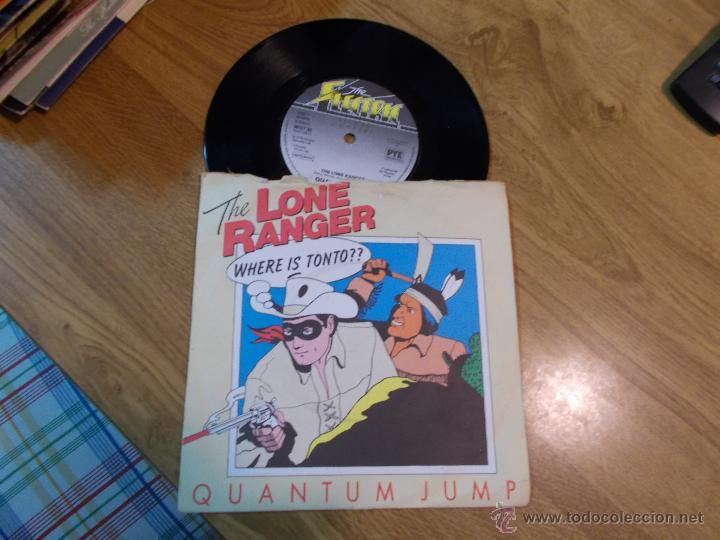 LONE RANGER. QUANTUM JUMP EDICION INGLESA (Música - Discos de Vinilo - Maxi Singles - Bandas Sonoras y Actores)