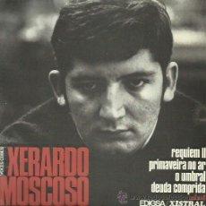 Discos de vinilo: XERARDO MOSCOSO EP SELLO EDIGSA . Lote 48031463