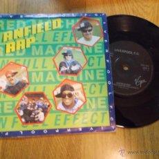 Discos de vinilo: ANFIELD RAP. LIVERPOOL F.C. EDICION INGLESA. Lote 48032641