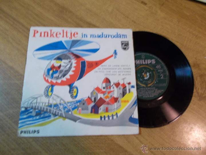 PINKELTJE IN MADURODAM. EDICION HOLANDESA. (Música - Discos - Singles Vinilo - Música Infantil)