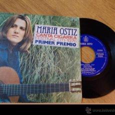 Discos de vinilo: MARIA OSTIZ. CANTA CIGARRA CANTA. FESTIVAL OTI 1976. Lote 48036865