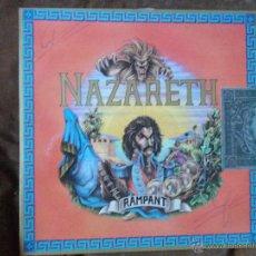Discos de vinilo: NAZARETH RAMPANT. Lote 48037090