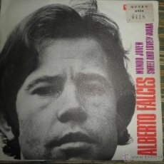 Discos de vinilo: ALBERTO FALCES - MUNDO JOVEN SINGLE - ORIGINAL ESPAÑOL - VERGARA 1969 (DUO DINAMICO) MUY RARO -. Lote 48037614