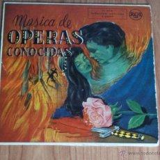 Discos de vinilo: MUSICA DE OPERAS CONOCIDAS (ORQUESTA BOSTON POPOS) RCA ESPAÑOLA AÑOS 60. Lote 48039048