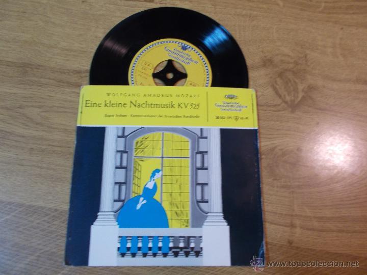 AMADEUS MOZART. EINE KLEINE NACHTMUSIK KV 525 (Música - Discos - Singles Vinilo - Clásica, Ópera, Zarzuela y Marchas)
