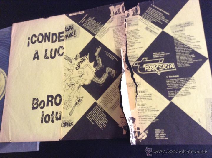 Discos de vinilo: disco vinilo lp original punk ¡condenados a luchar! borockari loturik! discos suicidas - Foto 2 - 48039613