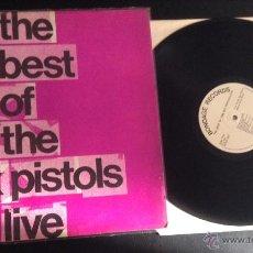 Discos de vinilo: DISCO VINILO LP ORIGINAL PUNK THE BEST OF THE SEX PISTOLS LIVE BONDAGE RECORDS. Lote 48039868