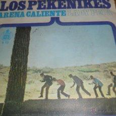 Discos de vinilo: LOS PEKENIKES - ARENA CALIENTE / LADY PEPA - 1966. Lote 48040723