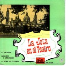Discos de vinilo: LA JOTA EN EL TEATRO - ORQUESTA SINFONICA ESPAÑOLA. Lote 48072412