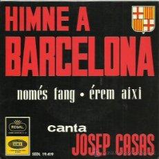 Discos de vinilo: JOSEP CASAS EP SELLO REGAL AÑO 1964 EN CATALAN. Lote 48086924