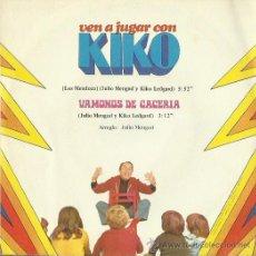 Discos de vinilo: KIKO LEGARD SINGLE SELLO ZAFIRO AÑO 1974. Lote 48089735