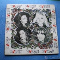 Discos de vinilo: VIVORAS VIVORAS LP 1993 .ENCARTE.ANIMAL RECORDS Nº 003. PDELUXE. Lote 48099385