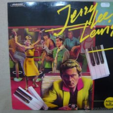 Discos de vinilo: JERRY LEE LEWIS, AND HIS PUMPING PIANO. ZAFIRO 30112203 LP ESPAÑA 1988. Lote 48102653