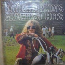 JANIS JOPLIN. GREATEST HITS. CBS 32190 LP ESPAÑA 1983