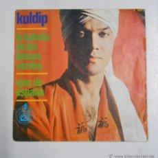 Discos de vinilo: KULDIP - LA BALADA DE LOS BOINAS VERDES + OJOS DE ESPAÑA. TDKDS10. Lote 48104274