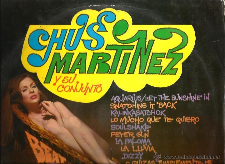 LP CHUS MARTINEZ Y SU CONJUNTO : BEAT SOUL POP SUPER HITS (Música - Discos - LP Vinilo - Grupos Españoles 50 y 60)