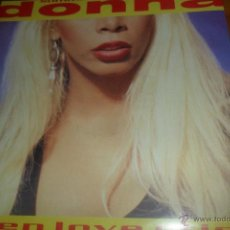 Discos de vinilo: DONNA SUMMER - WHEN LOVE CRIES / WHAT IS IT YOU WANT. Lote 56931448