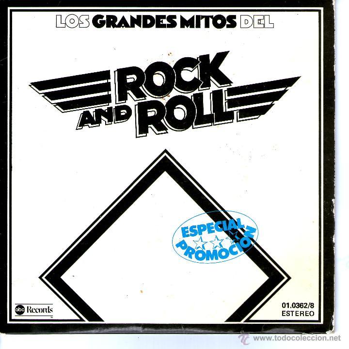Discos de vinilo: LOS GRANDES MITOS DEL ROCK AND ROLL - Foto 1 - 48109506