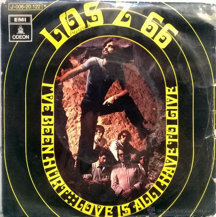 LOS Z 66. I'VE BEEN HURT/ LOVE ISA LL I HAVE TO GIVE. EMI-ODEON, ESP. 1970 SINGLE (Música - Discos - Singles Vinilo - Grupos Españoles de los 70 y 80)