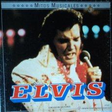 Discos de vinilo: ELVIS PRESLEY - MITOS MUSICALES - EDICIÓN DE 1986 DE ESPAÑA - CAJA 2 DISCOS. Lote 48114085