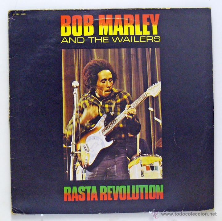 BOB MARLEY AND THE WAILERS - 'RASTA REVOLUTION' (LP VINILO. FRANCIA) (Música - Discos - LP Vinilo - Reggae - Ska)