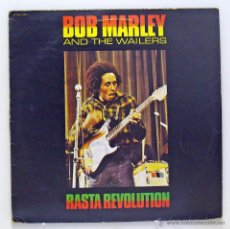 Discos de vinilo: BOB MARLEY AND THE WAILERS - 'RASTA REVOLUTION' (LP VINILO. FRANCIA). Lote 48116980