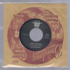 Discos de vinilo: DIXIE WRANGLERS - SPACE SICKNESS. I LOVE HER STILL (VINILO 7 PULGADAS MASTER W). Lote 48124038