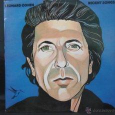 Discos de vinilo: LEONARD COHEN RECENT SONGS EDICION ESPAÑOLA 1979. Lote 48130140