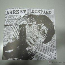 Discos de vinilo: EP - SPLIT H.C. - PUNK - ARREST - 2013 - Y DISPARO - 2014. Lote 48131140