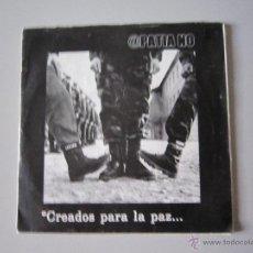 Discos de vinilo: EP - APATIA NO - CREADOS PARA LA PAZ - 2000 - IMPORTACIÓN VENEZUELA - ANARCO PUNK. Lote 48132985