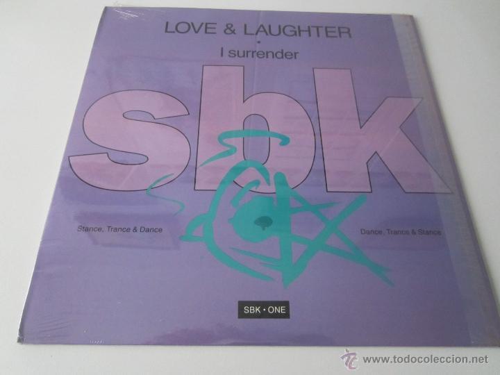 LOVE & LAUGHTER - I SURRENDER (5 VERSIONES) 1990 USA MAXI SINGLE (Música - Discos de Vinilo - Maxi Singles - Pop - Rock Extranjero de los 90 a la actualidad)