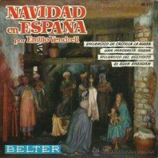 Discos de vinilo: EMILIO VENDRELL EP SELLO BELTER AÑO 1961. Lote 48138329