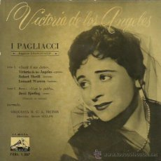 Discos de vinilo: VICTORIA DE LOS ANGELES EP SELLO LA VOZ DE SU AMO AÑO 1959. Lote 48138474