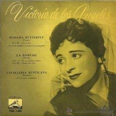 Discos de vinilo: VICTORIA DE LOS ANGELES EP SELLO LA VOZ DE SU AMO AÑO 1961. Lote 48138507